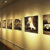 Five photographs on wall of Christine Pearl exhibit