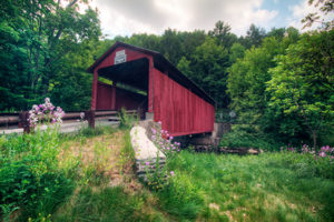 Sam Eckman Red Covered Bridge