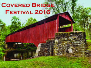 Stillwater covered bridge Test: Covered Bridge Festival 2016