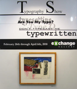Typology Show at The Exchange