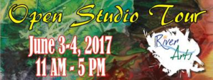 Open Studio Tour June 3-4 2017 11 am - 5 pm
