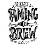 black and white Taming of the Brew logo